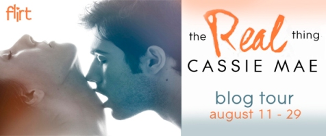 The Real Thing - Blog Tour Banner
